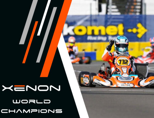 Ash Sutton makes history at the Iame World Finals